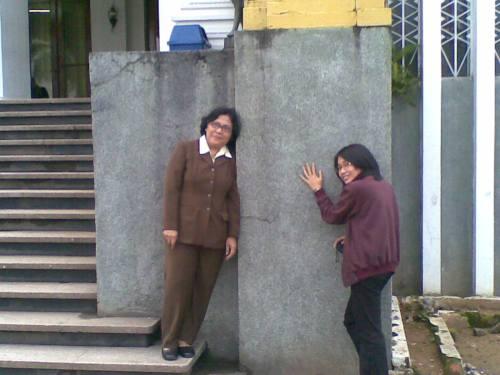 Chichi dan Bu Mimi @ Museum Kutai
