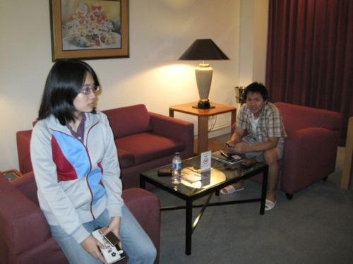 Chichi & Vicky @ Vicky's Room