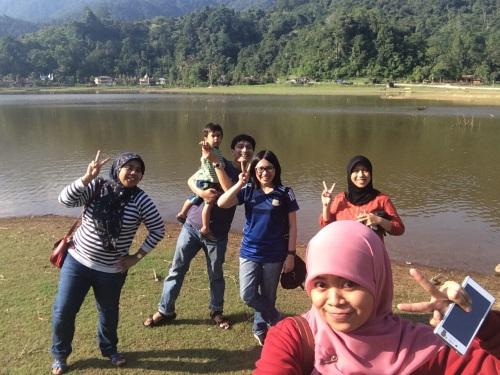 Full team di Tarusan Kamang